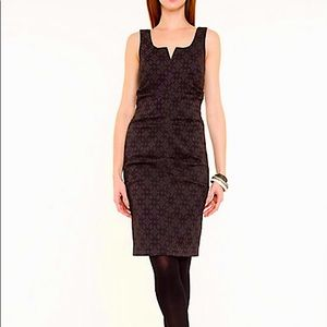 NEW Fitted Cocktail Dress Classic Jacquard